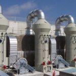 Использование скрубберов для снижение отрицательного воздействия выбросов сернистого ангидрида